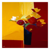 Autumn Blooms 2 Giclee Print by  Monestier