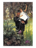 The Widower Premium Giclee Print by James Tissot