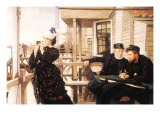 The Daughter of the Master Prints by James Tissot