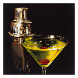 Appletini Giclee Print by Ray Pelley