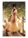 On The Thames Posters by James Tissot