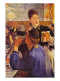 Beer Waitress Posters by &#201;douard Manet