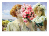 Summer Offering Poster by Sir Lawrence Alma-Tadema