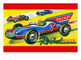 Rocket Racer Prints