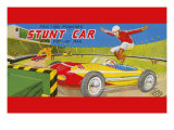 Friction Powered Stunt Car Posters