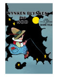 Wynken Blynken and Nod Prints by Eugene Field