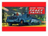 Space Patrol Posters