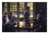The Prodigal Son In Modern Life- The Farewell Prints by James Tissot