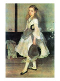 Portrait of Miss Alexander Posters by James Abbott McNeill Whistler