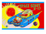 Space Scout S-17 Prints