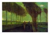 Allée de campagne Posters par Vincent van Gogh