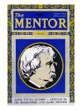 The Mentor - Mark Twain Poster