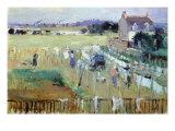 Berthe Morisot - Laundry Day - Reprodüksiyon