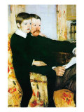 Alexander Cassatt and Robert Kelso Cassatt Photo by Mary Cassatt