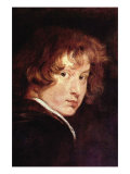 Van Dyk Self Portrait Foto von Sir Anthony Van Dyck
