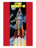 Atom Rocket-15 Print