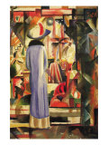 Large Bright Showcase Poster by Auguste Macke