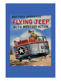 Battery Operated Flying Jeep with Mystery Action Print
