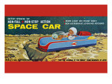 Space Car Poster