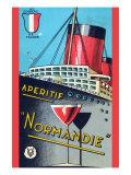 Aperitif Normandie Poster