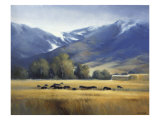 Early Snow Giclee Print by David Marty