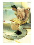 A Reading of Homer, Detail Posters by Sir Lawrence Alma-Tadema