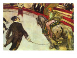 In The Circus Posters by Henri de Toulouse-Lautrec