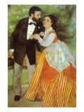 Alfred Sisley Print by Pierre-Auguste Renoir