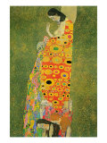 Abandoned Hope Affiches par Gustav Klimt