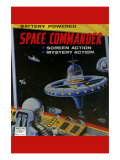 Space Commander Poster