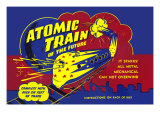 Atomic Train of The Future Prints