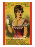 The Belle of The Ball - a Tale of Henry&#39;s Carbolic Salve Poster