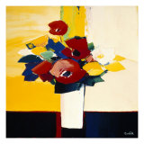 Autumn Blooms 4 Giclee Print by  Monestier