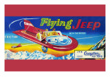 Flying Jeep Posters