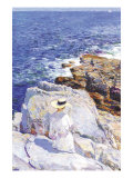 Southern Rock Riffs, Appledore Prints by Childe Hassam