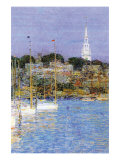 Cat Boats, Newport Prints by Childe Hassam