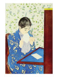 The Letter No.1 Prints by Mary Cassatt