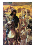 Nehemiah Sees The Rubble In Jerusalem Prints by James Tissot
