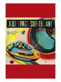 X-07 Space Surveillant Print