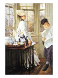 The Messages Read Print by James Tissot