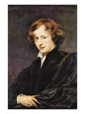 Self Portriat of Van Dyk Kunstdrucke von Sir Anthony Van Dyck