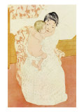 Motherly Tenderness Print by Mary Cassatt