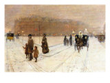 Urban Fairy Tale Prints by Childe Hassam