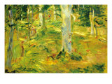 Forest Print by Berthe Morisot