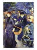 Les Para Pluies Billeder af Pierre-Auguste Renoir