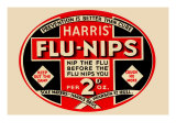 Harris' Flu-Nips Prints