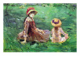 In The Garden Posters by Berthe Morisot
