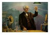 Thomas Alva Edison Póster