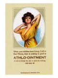 Athlo - Ointment For Croup, Cold Or Sore Throat Prints