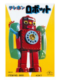 Telephone Robot Posters